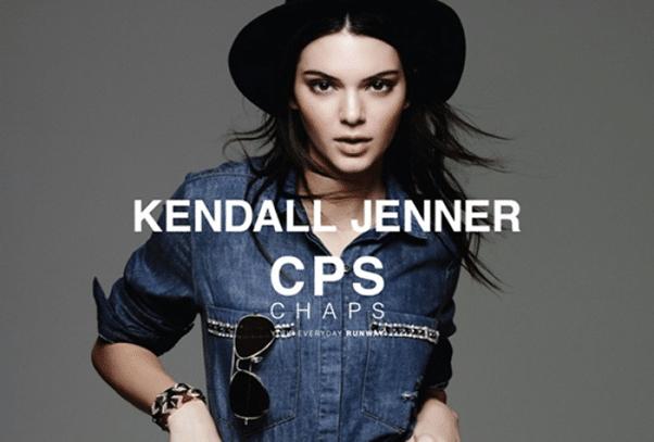 Thiên thần Kebdall Jenner